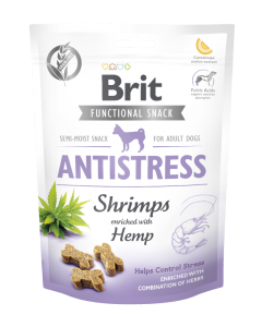 BRIT CARE DOG FUNCTIONAL SNACK SHRIMP ANTISTRESS 150G