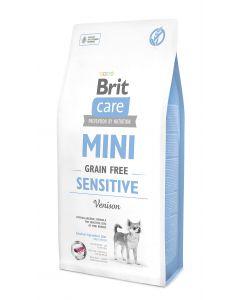 BRIT CARE MINI GRAIN-FREE bezzbożowa, hipoalergiczna formuła dla dorosłych psów ras miniaturowych