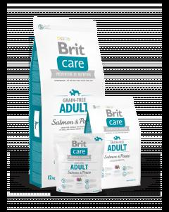 BRIT CARE GRAIN-FREE bezzbożowa, hipoalergiczna formuła dla dorosłych psów ras małych i średnich ŁOSOŚ Z ZIEMNIAKAMI