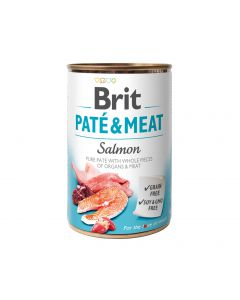 BRIT PATE & MEAT SALMON  400G