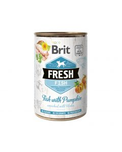 BRIT FRESH FISH&PUMPKIN 400g