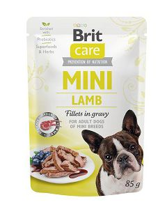 BRIT CARE MINI POUCH LAMB 85g