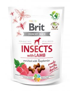 BRIT CARE DOG CRUNCHY CRACKER INSECT & LAMB 200g