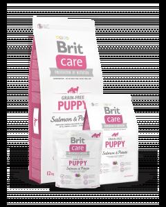 BRIT CARE GRAIN-FREE bezzbożowa, hipoalergiczna formuła dla szczeniąt i młodych psów wszystkich ras ŁOSOŚ Z ZIEMNIAKAMI